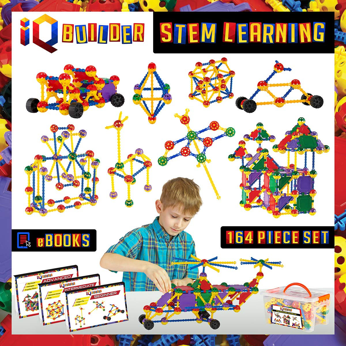 Review of IQ BUILDER | STEM Learning Toys | Creative Construction Engineering