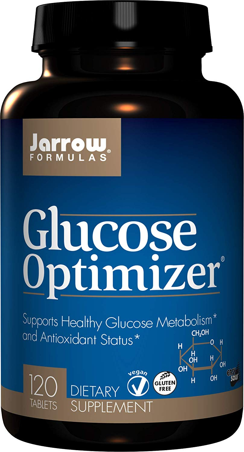 Jarrow Formulas Glucose Optimizer, Supports Healthy Glucose Levels and Antioxidant Status