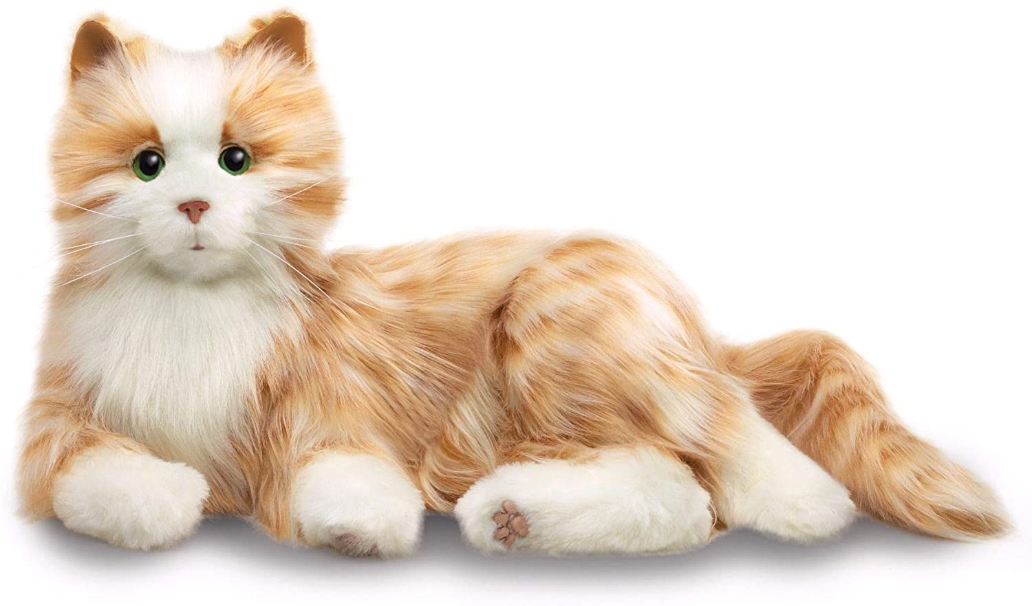 Review of JOY FOR ALL - Orange Tabby Cat - Interactive Companion Pets - Realistic & Lifelike