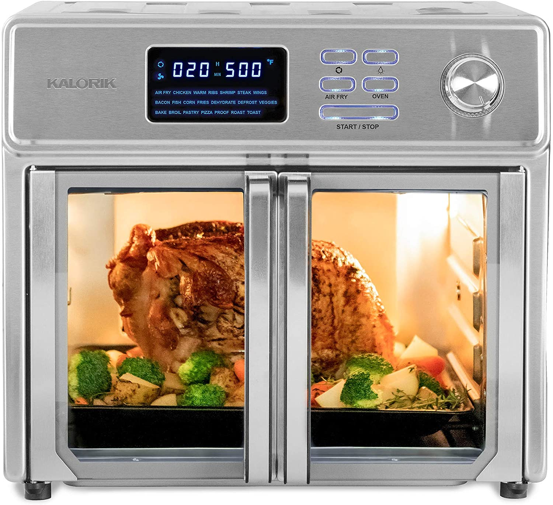 Review of Kalorik 26 QT Digital Maxx Air Fryer Oven Stainless Steel AFO 46045 SS