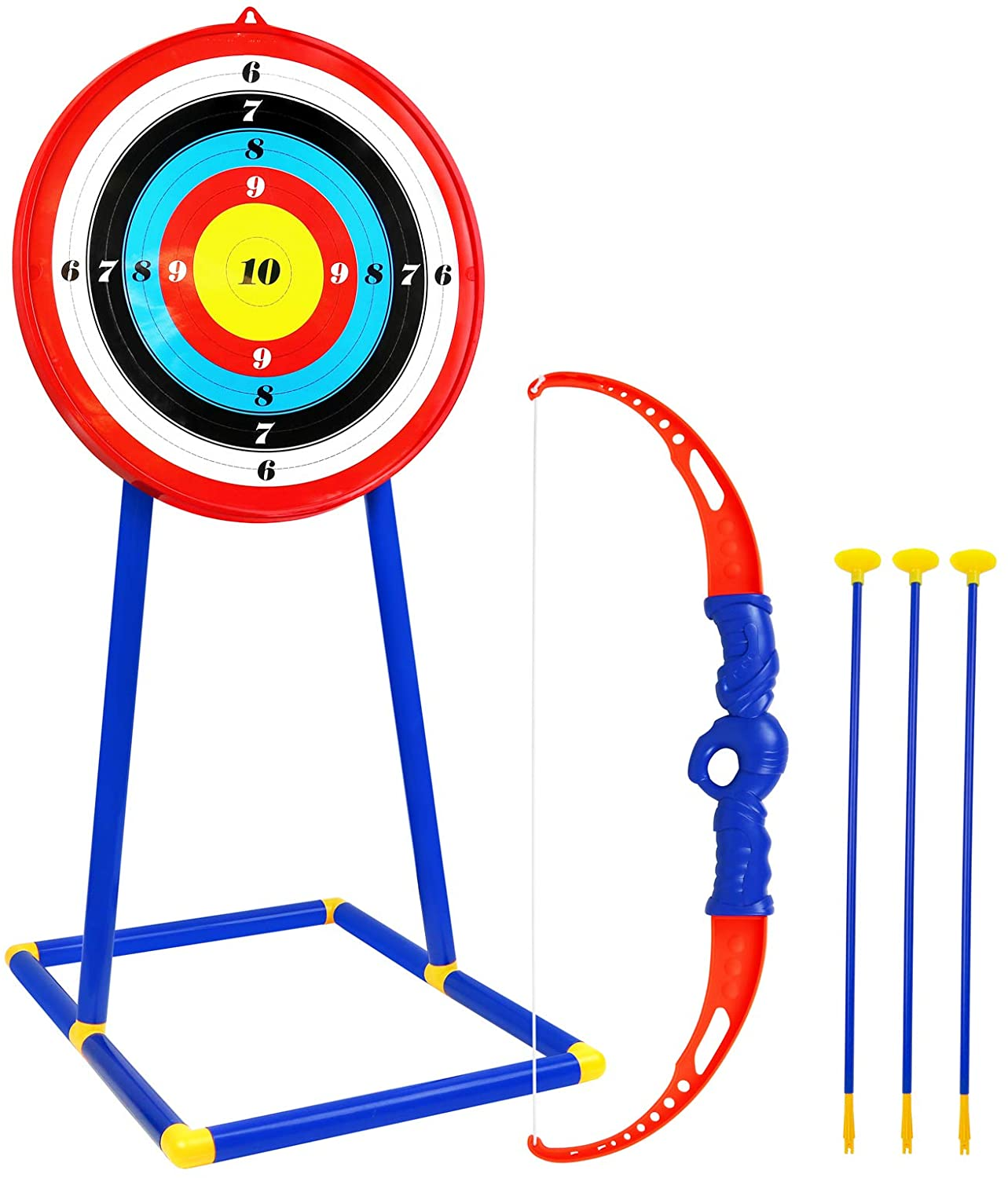 Review of Kiddie Play Toy Archery Set with Target and Suction Cup Arrows