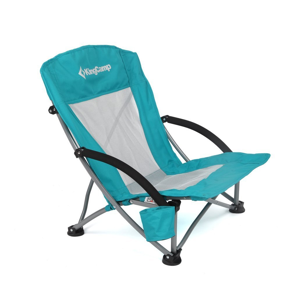 Review of KingCamp Low Sling Beach Camping Folding Chair with Mesh Back