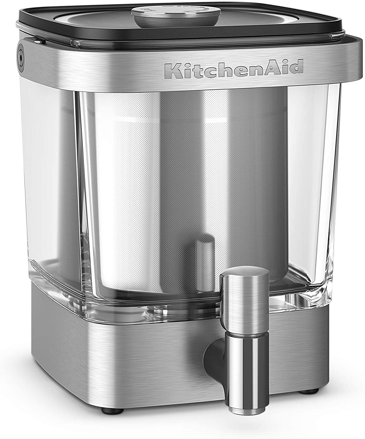 Review of KitchenAid KCM5912SX Cold Brew Coffee Maker 38 Ounce Brushed Stainless Steel