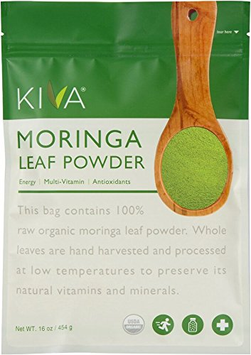 Review of Kiva Organic Moringa Leaf Powder - Non-GMO and RAW - (1 Pound)