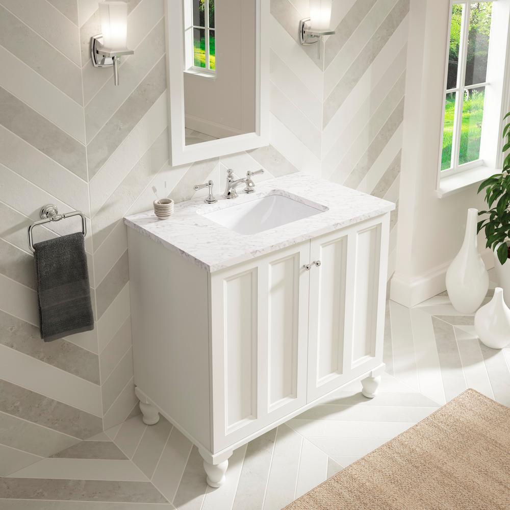 Review of KOHLER Caxton Undermount Rectangular Bathroom Sink