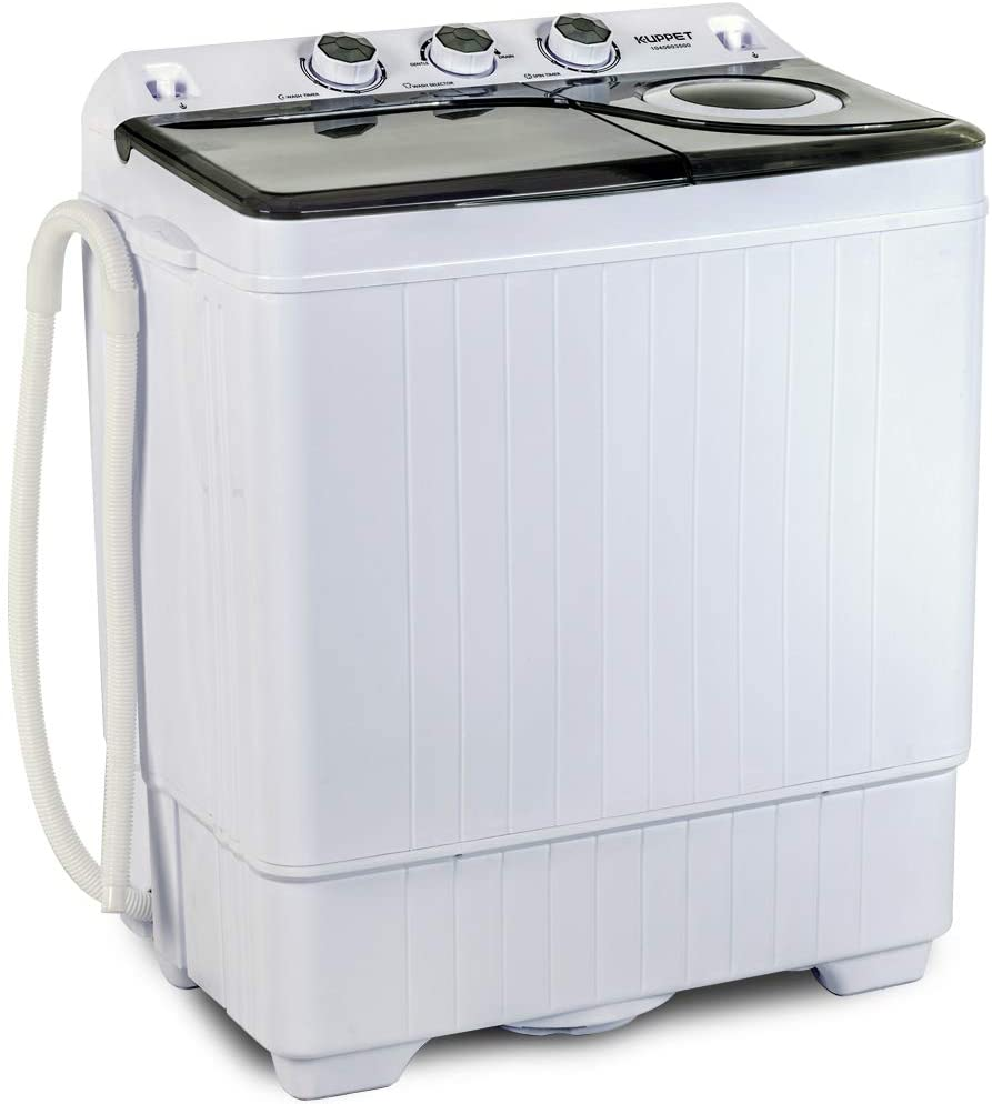Review of KUPPET Compact Twin Tub Portable Mini Washing Machine 26lbs Capacity