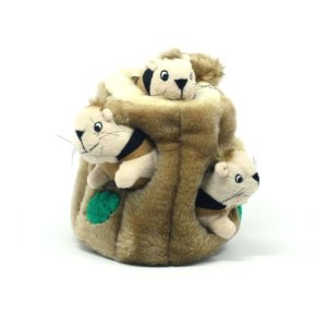 Kyjen PP01056 Hide-A-Squirrel Pet Toy
