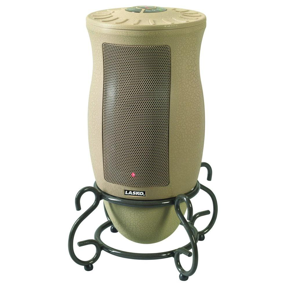 Review of Lasko Designer Series 1500-Watt Oscillating Ceramic Electric Portable Heater with Remote Control
