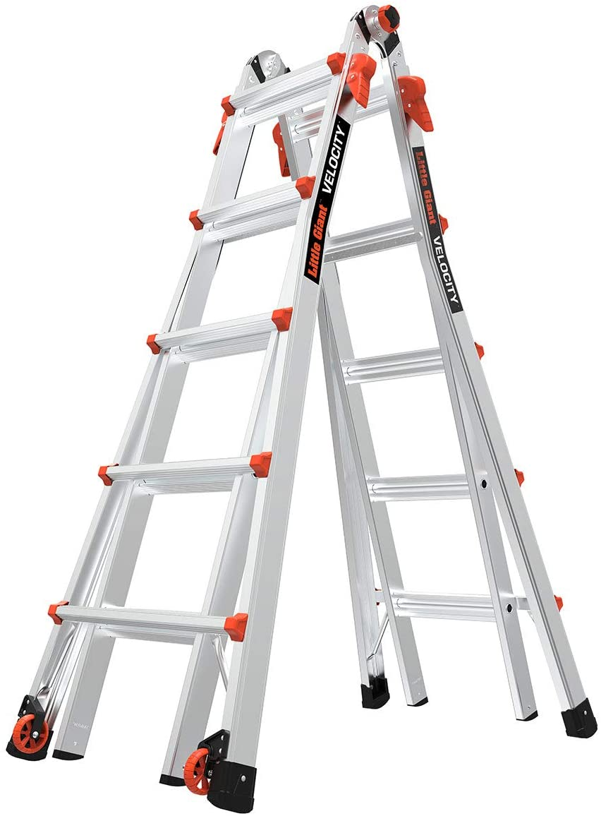 Review of Little Giant Ladders, Velocity with Wheels, M22 (15422-001)