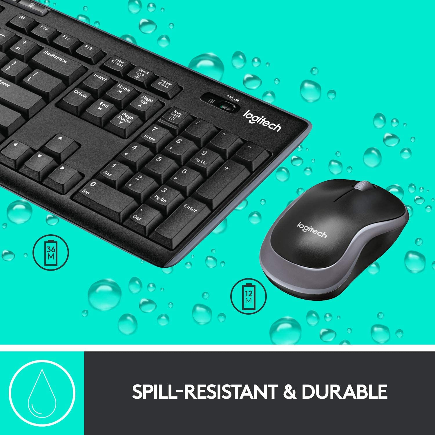 Review of Logitech MK270 Wireless Keyboard and Mouse Combo