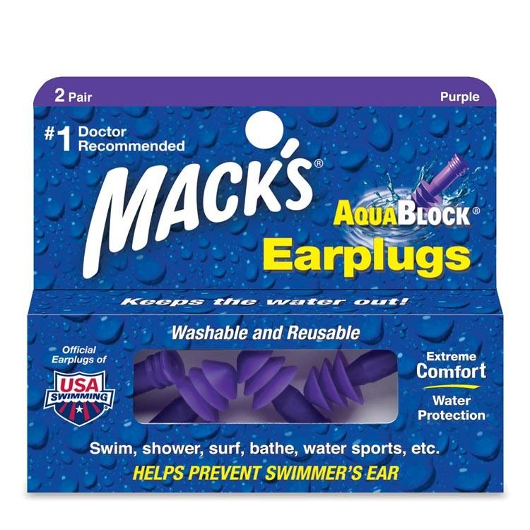 Review of Mack's AquaBlock Earplugs
