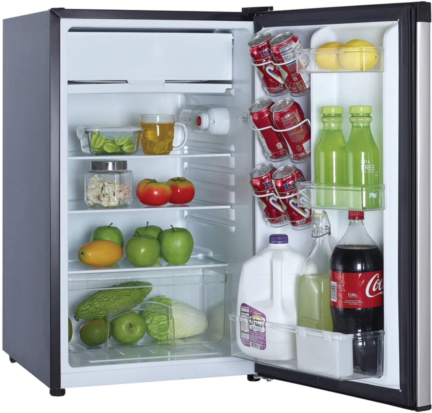 Review of Magic Chef MCBR440S2 Refrigerator, 4.4 cu. ft, Stainless Steel