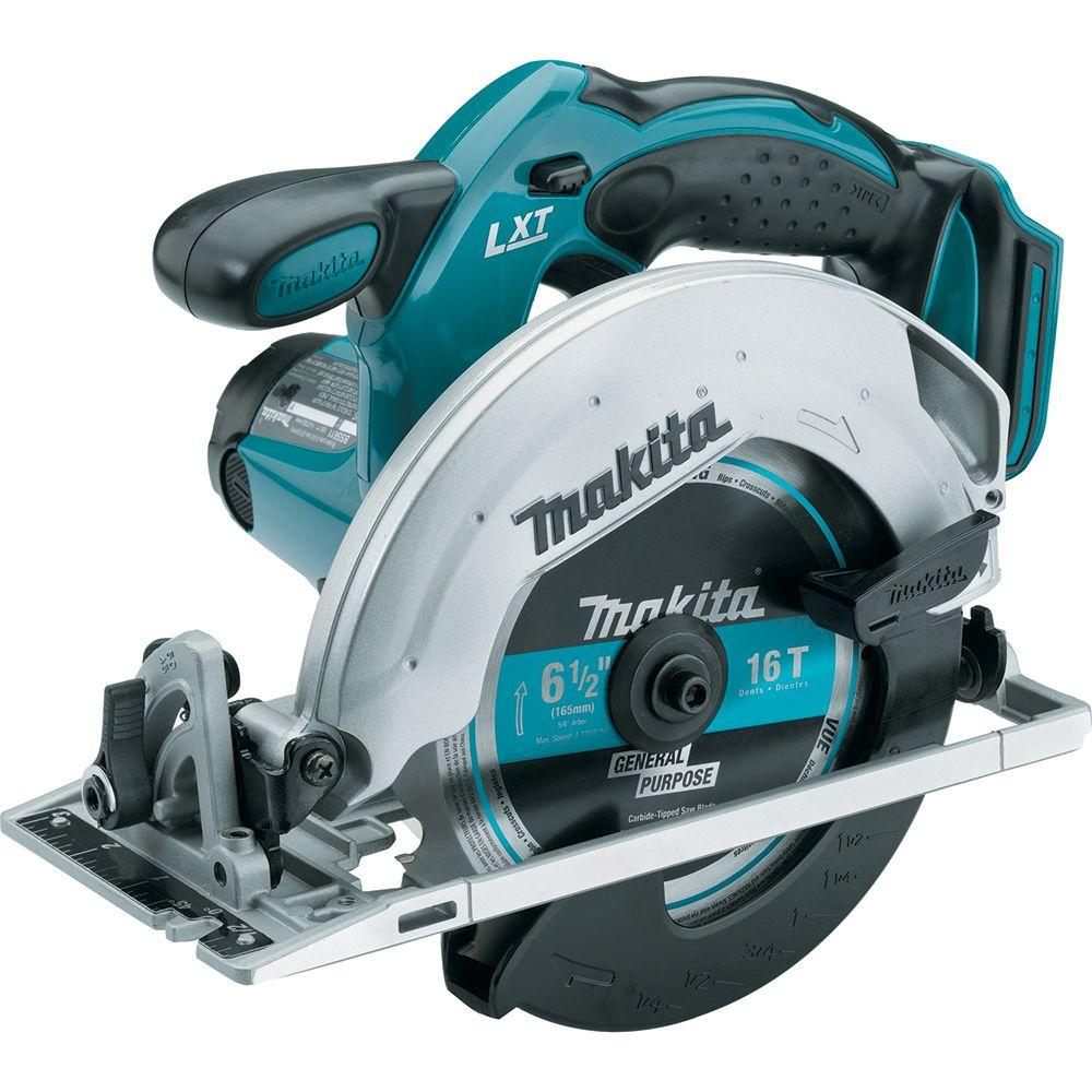 Review of Makita 18-Volt LXT Lithium-Ion Cordless 6-1/2 in. Lightweight Circular Saw and General Purpose Blade