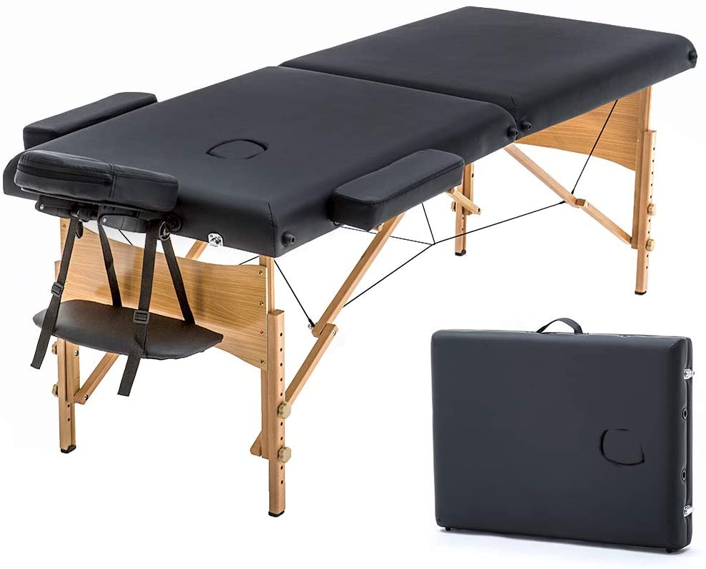 Review of Massage Table Portable Massage Bed Spa Bed by BestMassage