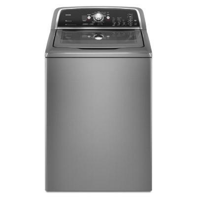 Maytag Bravos X 3.6 cu. ft. High-Efficiency Top Load Washer in Liquid Silver (Model: MVWX700XL)