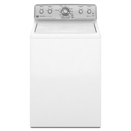 Maytag Centennial 3.6 cu ft High-Efficiency Top-Load Washer (White) ENERGY STAR (Model: MVWC400XW)