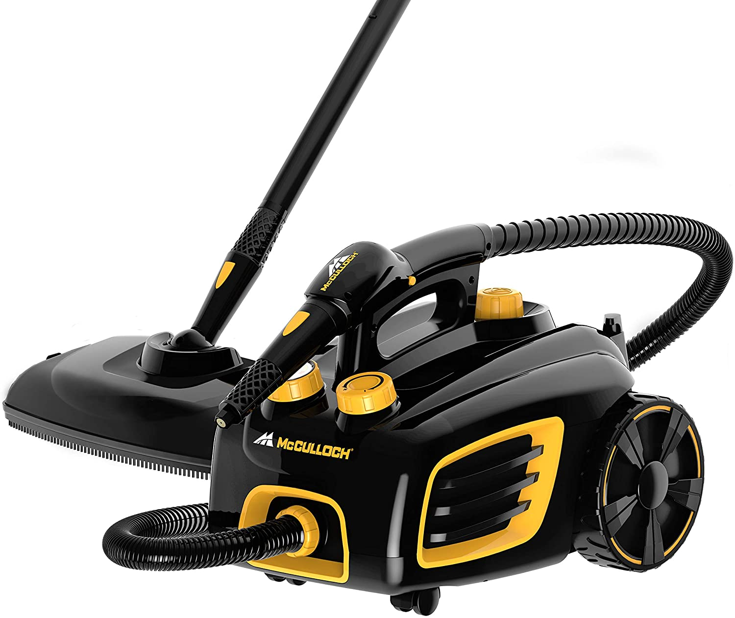 Review of McCulloch MC1375 Canister Steam Cleaner with 20 Accessories
