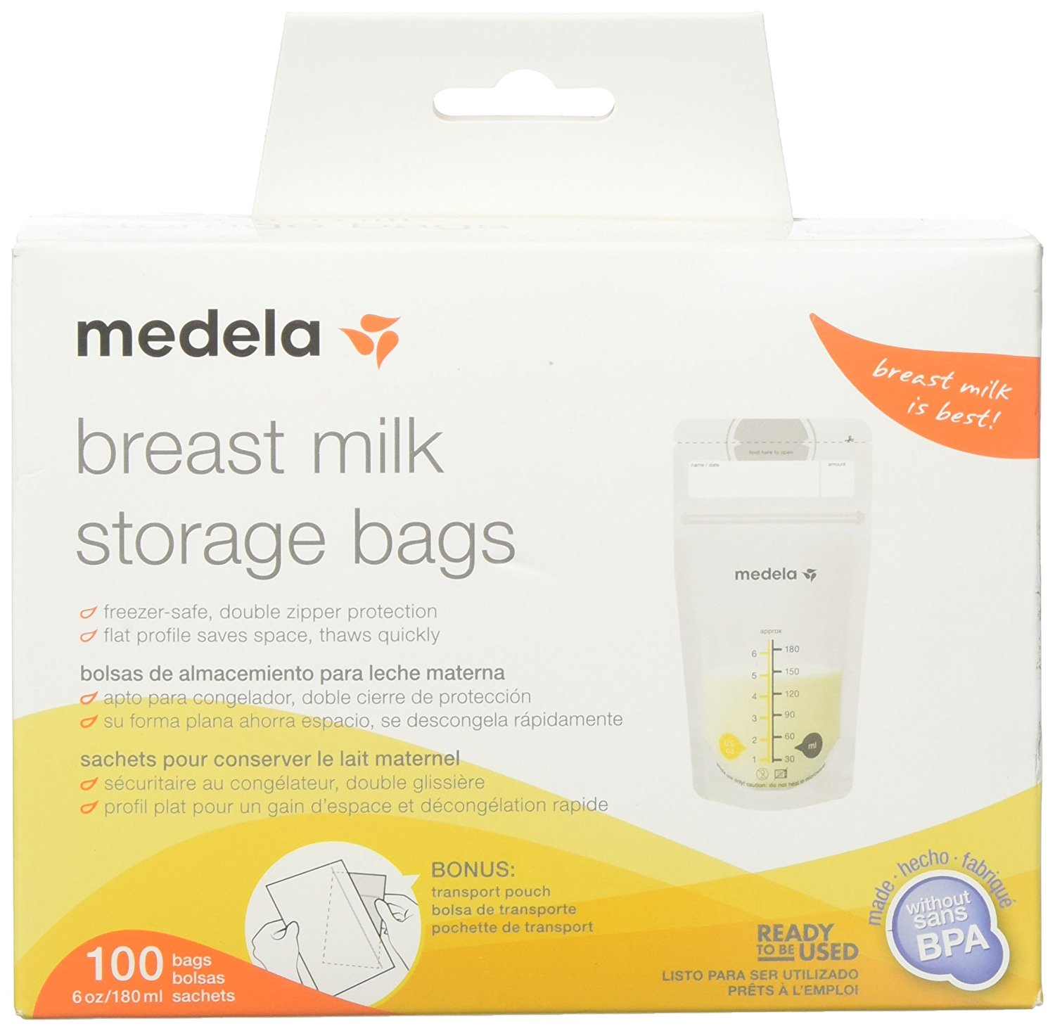 Review of Medela Breast Milk Storage Bags