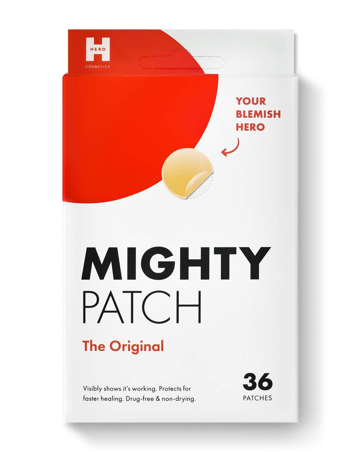 Review of Mighty Patch Original - Hydrocolloid Acne Pimple Patch (36 Count)
