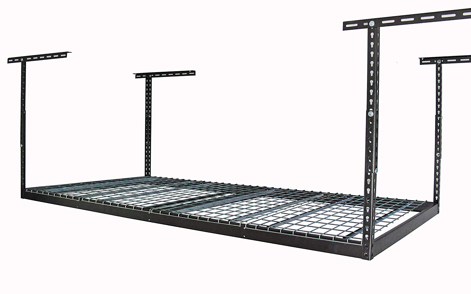 Review of MonsterRax - 4x8 Overhead Garage Storage Rack Heavy Duty (24