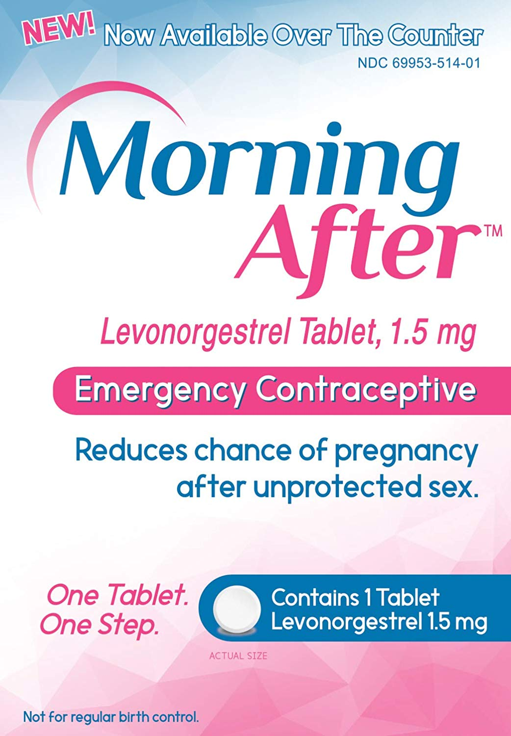 Review of Morning AfterTM Levonorgestrel Tablet, 1.5 mg Emergency Contraceptive Pill