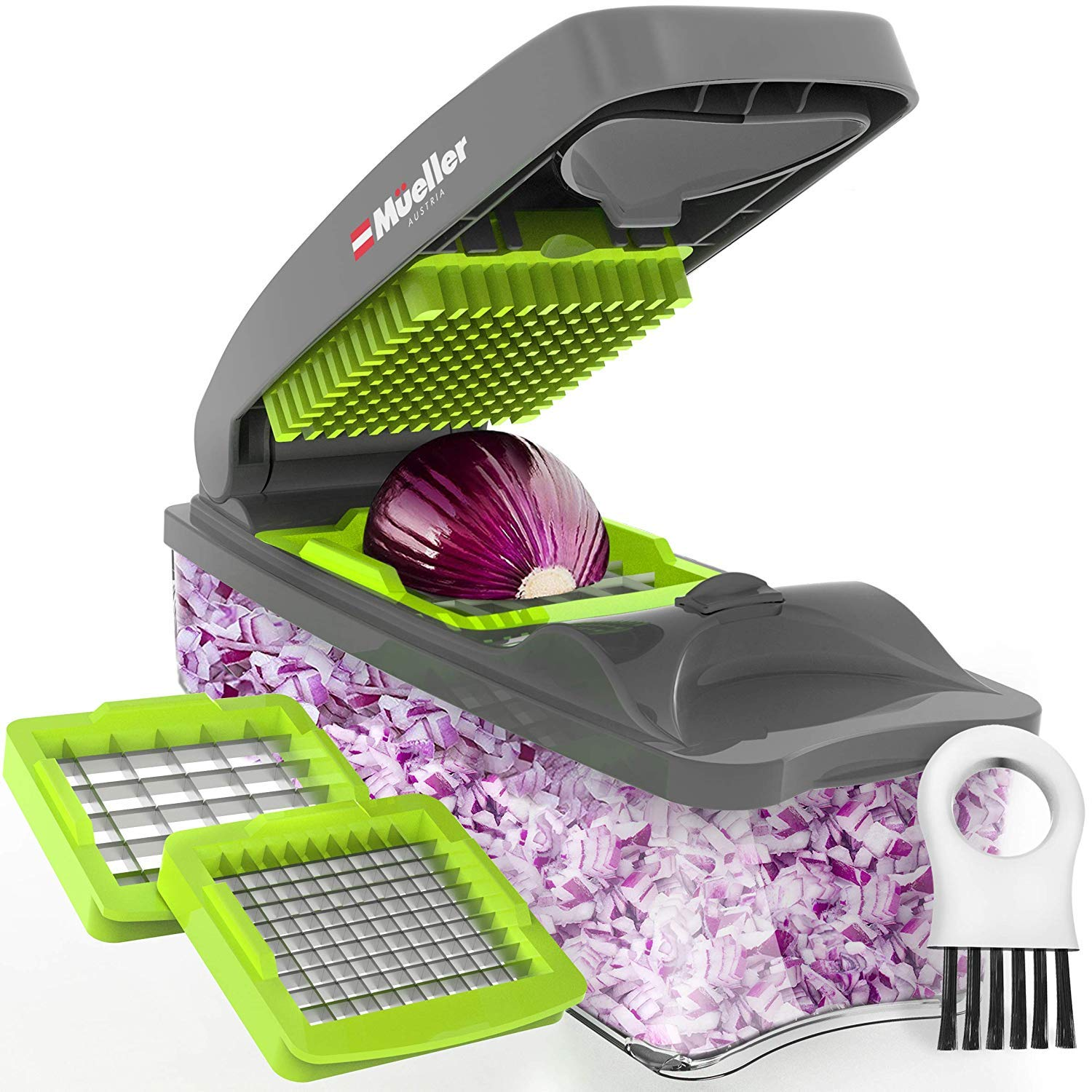 Review of Mueller Onion Chopper Pro Vegetable Chopper - Strongest