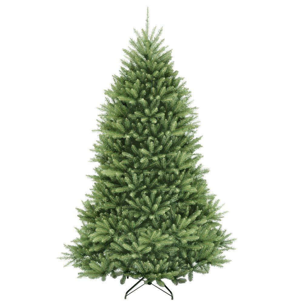 Review of National Tree Company 7.5 ft. Dunhill Fir Hinged Artificial Christmas Tree