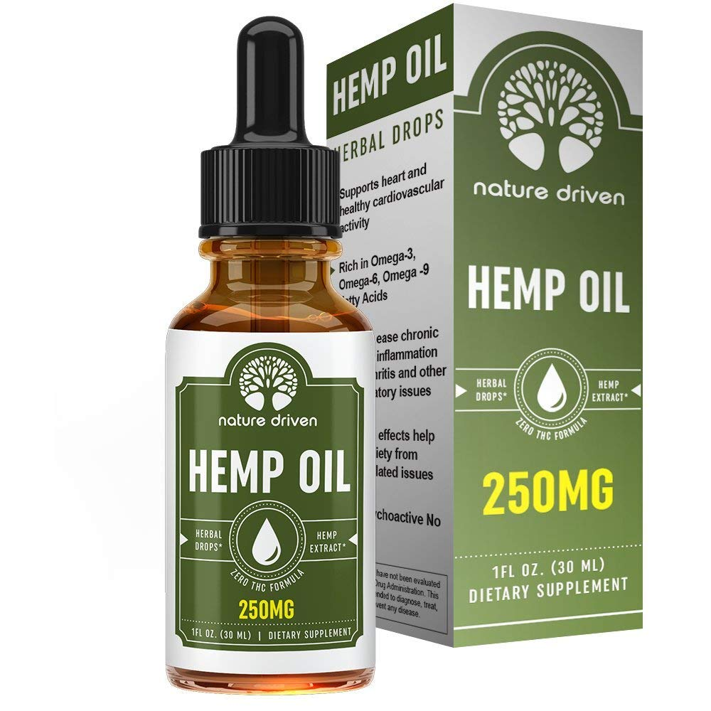 Review of Nature Driven Hemp Oil Extract