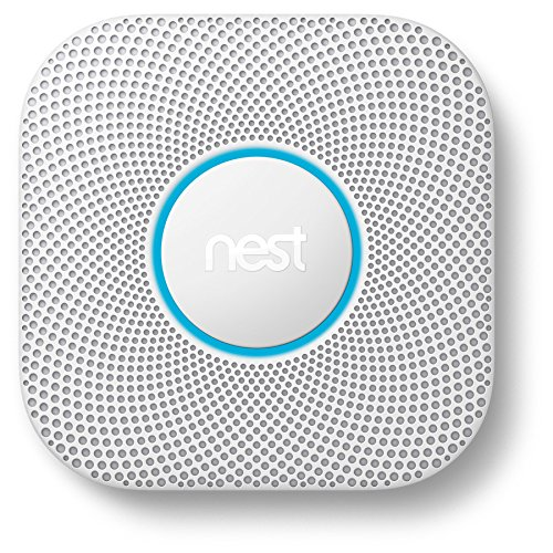 Nest Protect AC Hardwired Photoelectric Combination Smoke and Carbon Monoxide Detector