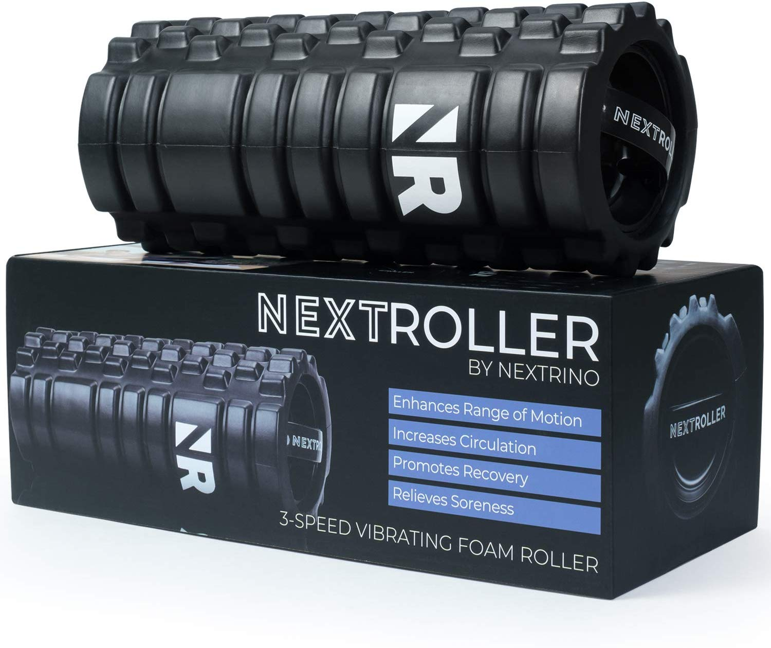 Review of NextRoller 3-Speed Vibrating Foam Roller