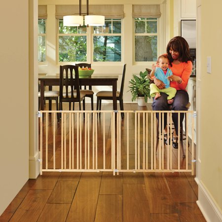 Review of North State Natural Wood Extra Wide Swing Baby Gate, 60