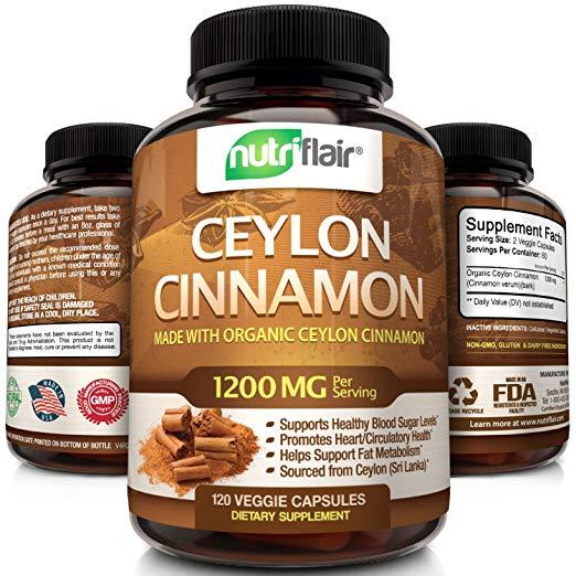 NutriFlairOrganic Ceylon Cinnamon