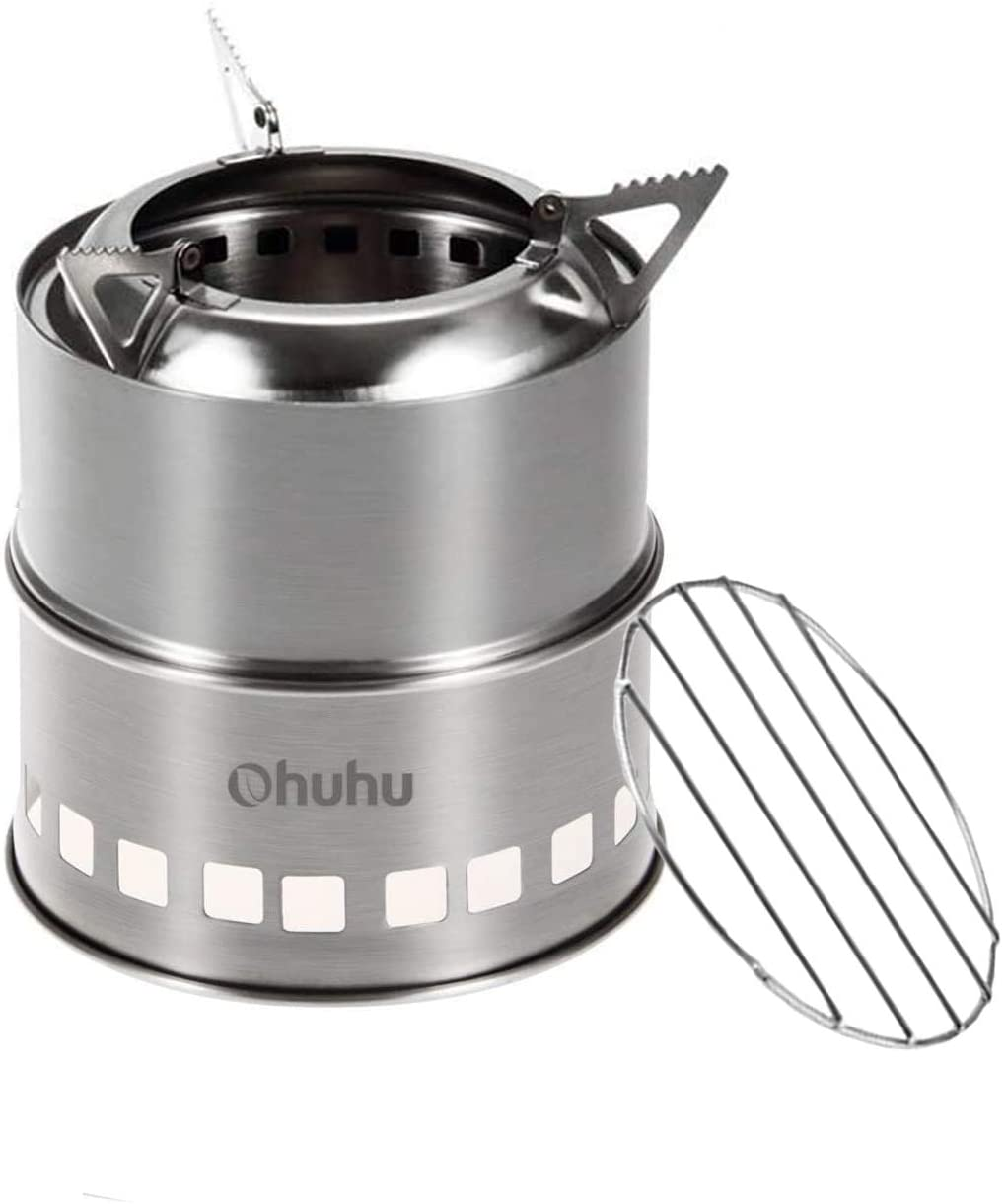 Review of Ohuhu Stainless Steel Camping Stove