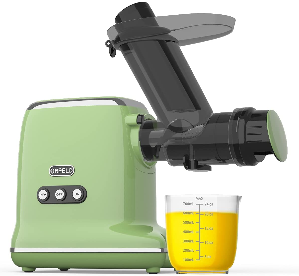 Review of ORFELD Cold Press Juicer with 90% Juice Yield & Purest Juice