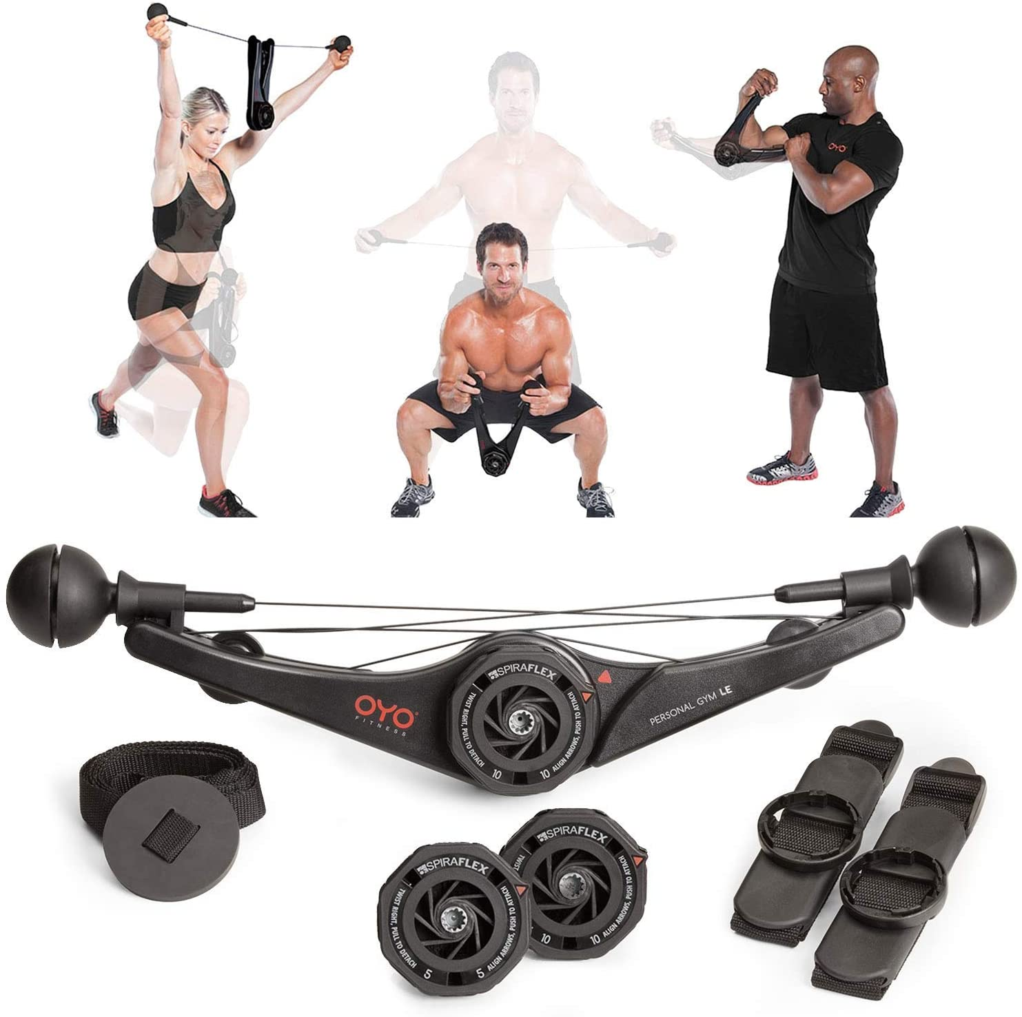 Review of OYO Personal Gym - Full Body Portable Gym Equipment Set