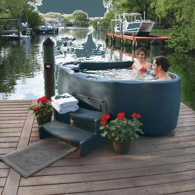 AquaRest Spas Premium 300 2-Person Plug and Play Hot Tub