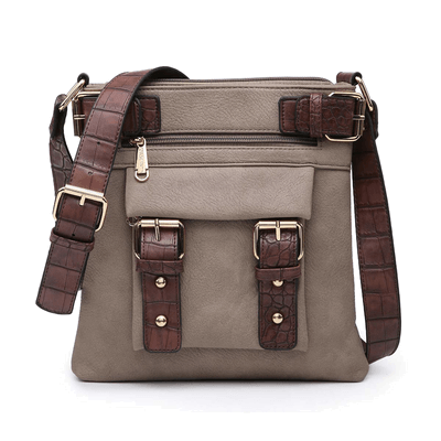 Dasein Women Lightweight Crossbody Bags Soft Vegan Leather Travel Purse