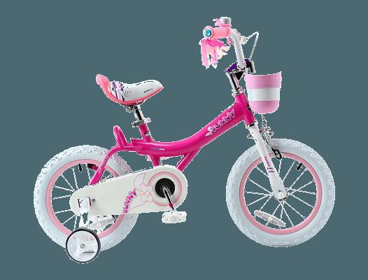 RoyalBaby Jenny & Bunny Girl's Bike with basket