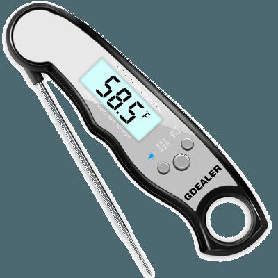 GDEALER Waterproof Meat Digital Thermometer