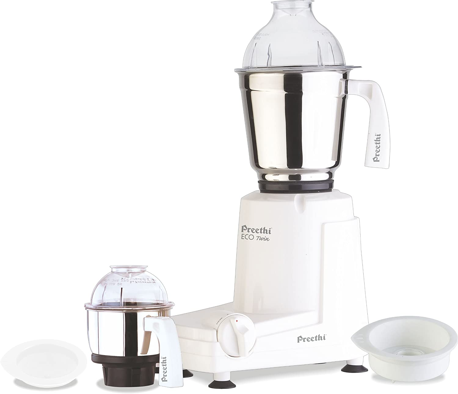 Review of Preethi Eco Twin Jar Mixer Grinder, 550-Watt