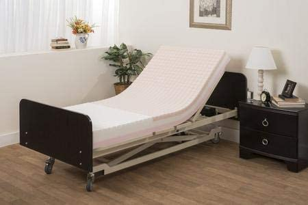 Review of Pressure Redistribution Foam Hospital Bed Mattress - 3 Layered Visco Elastic Memory Foam - 80