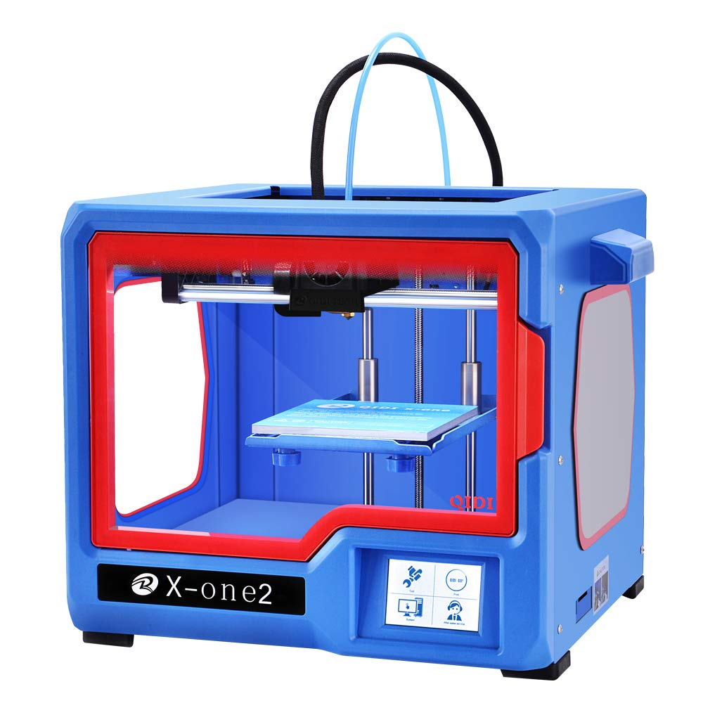 Review of QIDI TECHNOLOGY New Generation 3D Printer:X-one2,Metal Frame Structure,Platform Heating