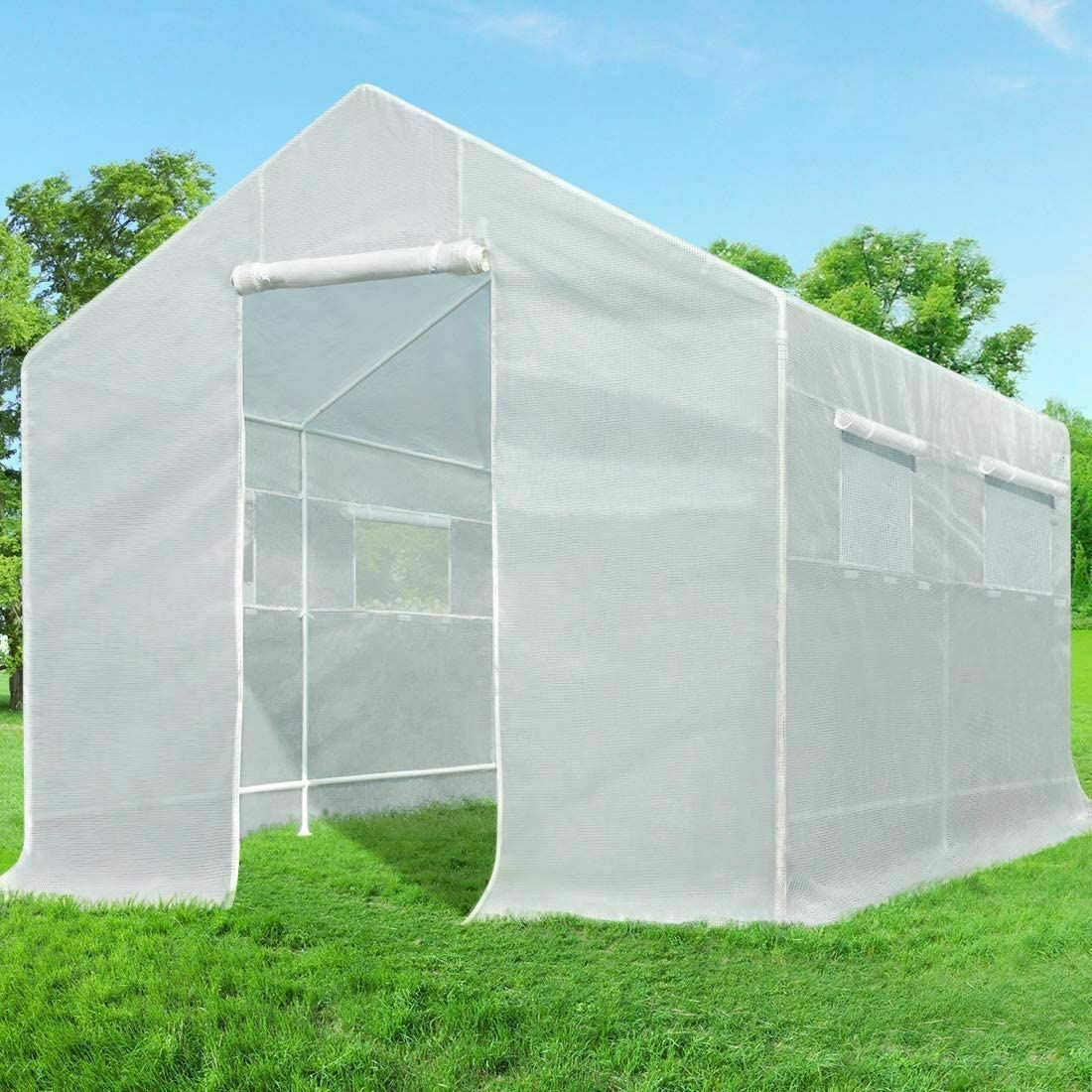 Review of Quictent 10x9x8 ft Portable Tunnel Greenhouse