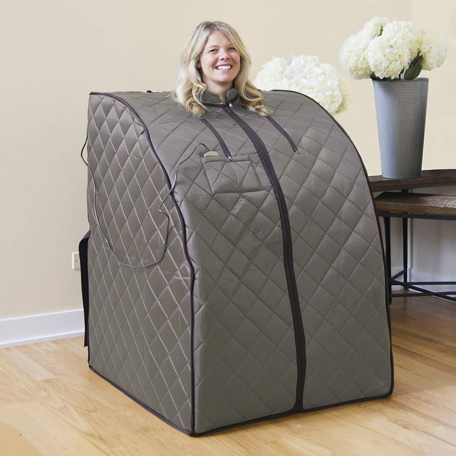 Review of Radiant Saunas Rejuvinator Portable Personal Sauna with FAR Infrared Carbon Panels
