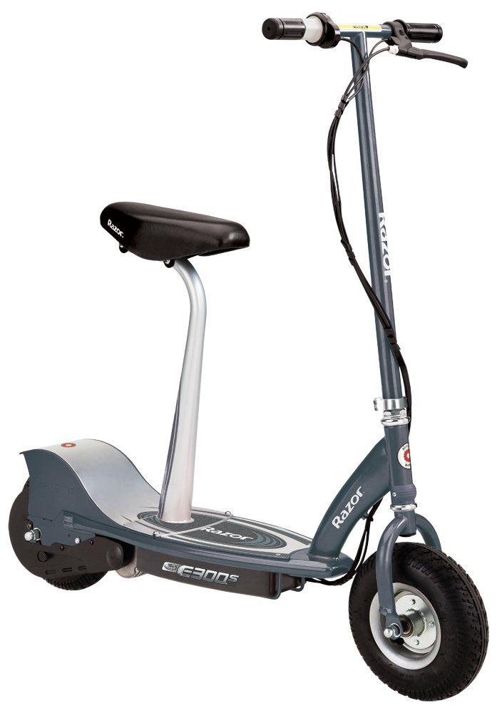 Review of Razor E300S Seated Electric Scooter