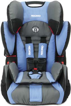 Review of RECARO ProSPORT Combination Harness To Booster Car ...