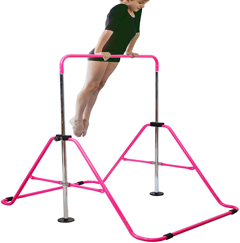 Review of RELIANCER Expandable Gymnastics Junior Training Bar