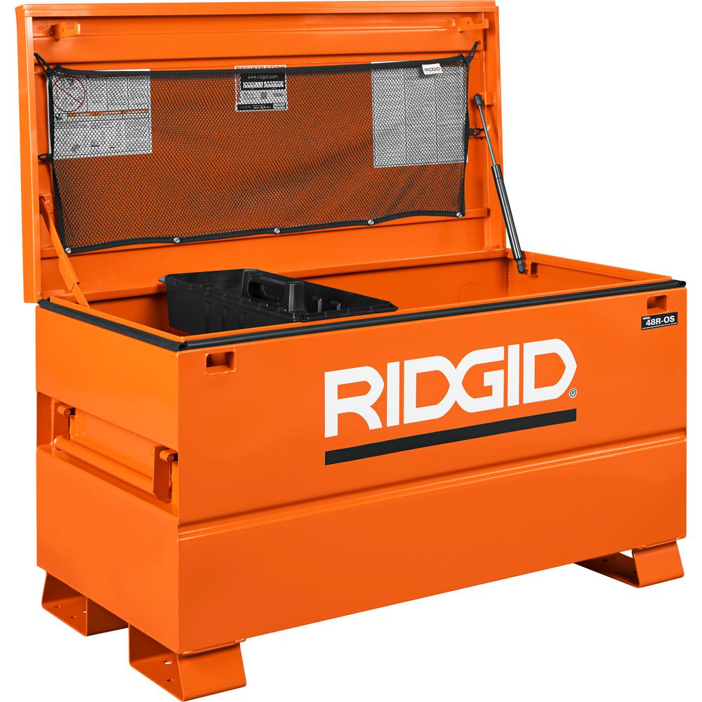Review of RIDGID 48 in. x 24 in. Universal Storage Chest