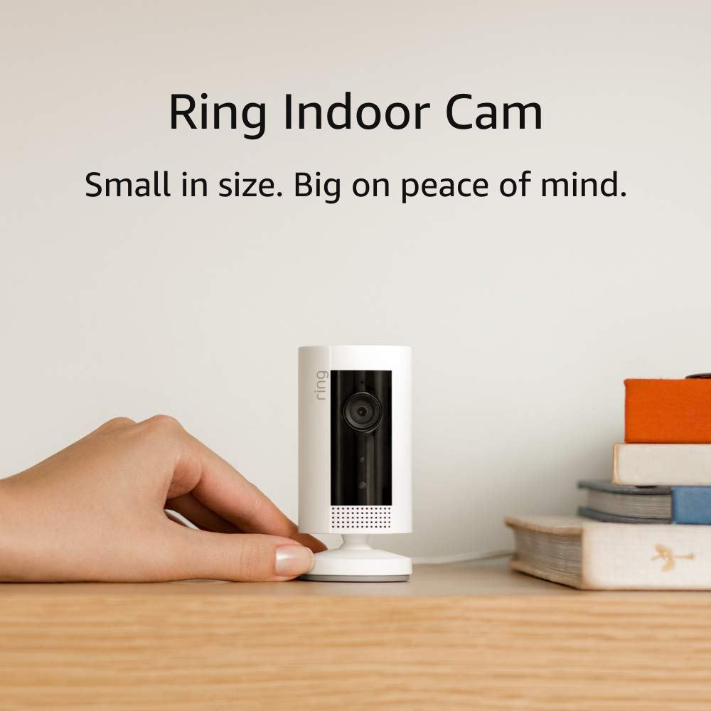 Review of Ring Indoor Cam, Compact Plug-In HD security camera