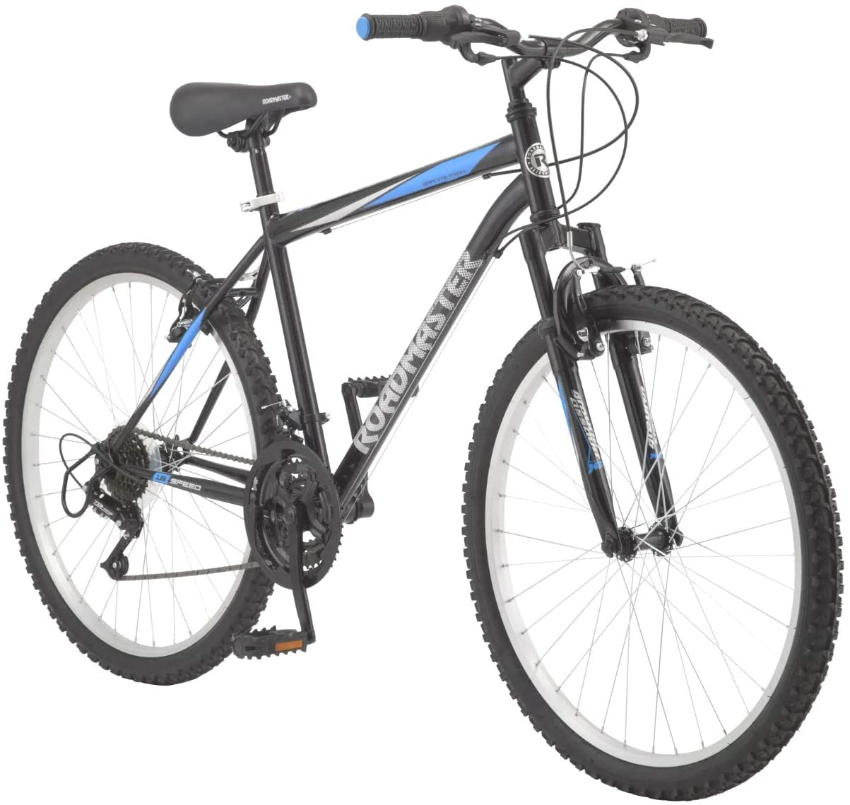 Review of Roadmaster - 26 Inches Granite Peak Men's Mountain Bike, Black/Blue